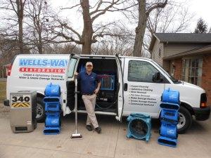 Wells-Way Carpet Cleaning of Keokuk Iowa - Louie Zinn